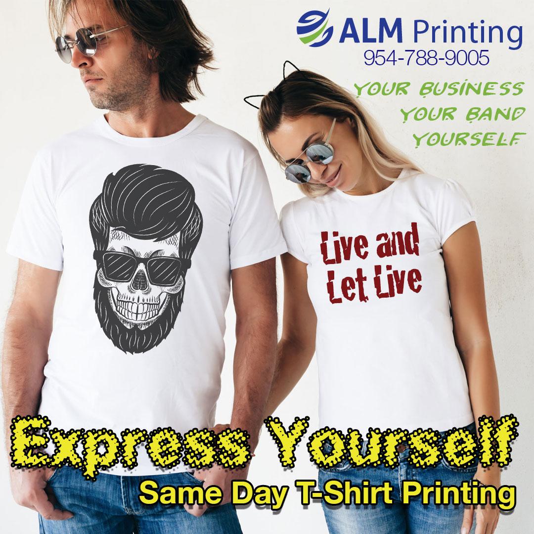 DTG printing, ALM Printing