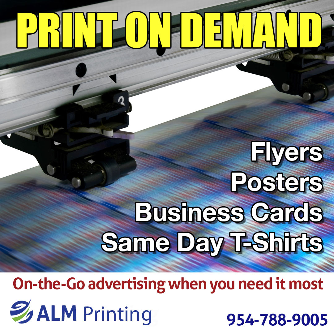 Flyers; Posters; Business Cards/ Same Day T-Shirts